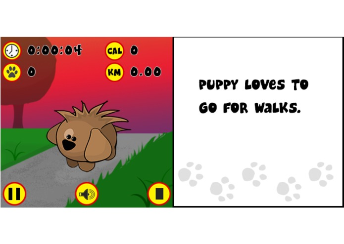 Puppy Pedometer – screenshot 3
