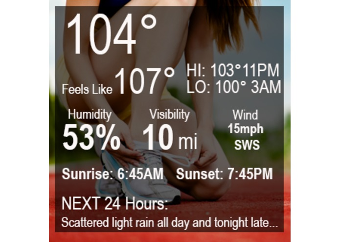 SPORT Weather – screenshot 3