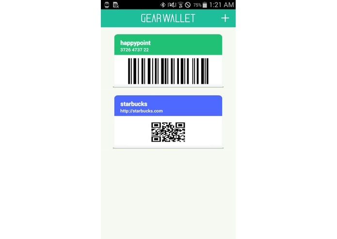 Gear Wallet – screenshot 1