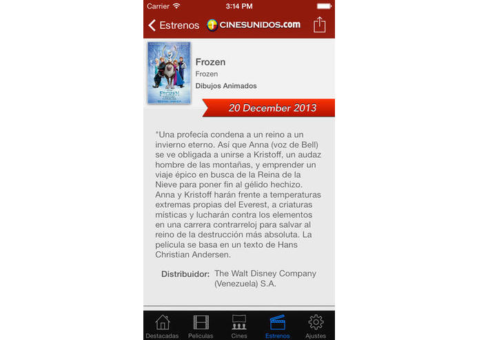 Cines Unidos – screenshot 5