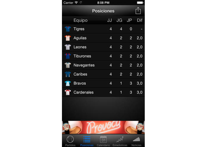 Beisbol Total – screenshot 4