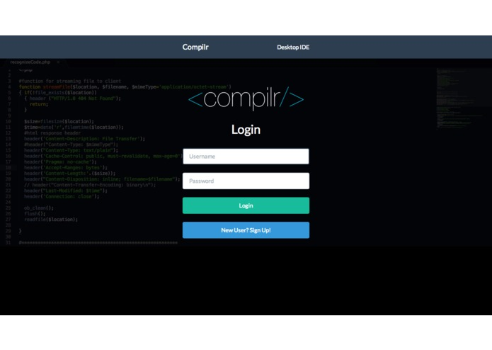 Compilr – screenshot 1