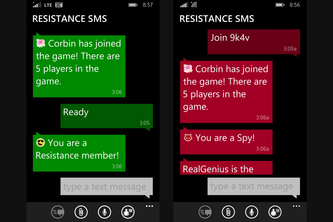 Resistance SMS