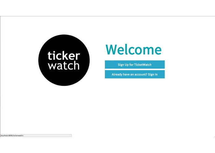 TickerWatch – screenshot 2