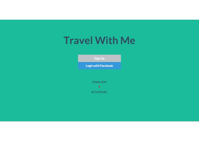 Travel With Me – screenshot 1