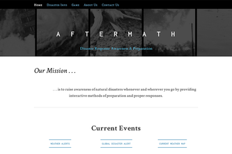 Aftermath - Disaster Response and Preparation