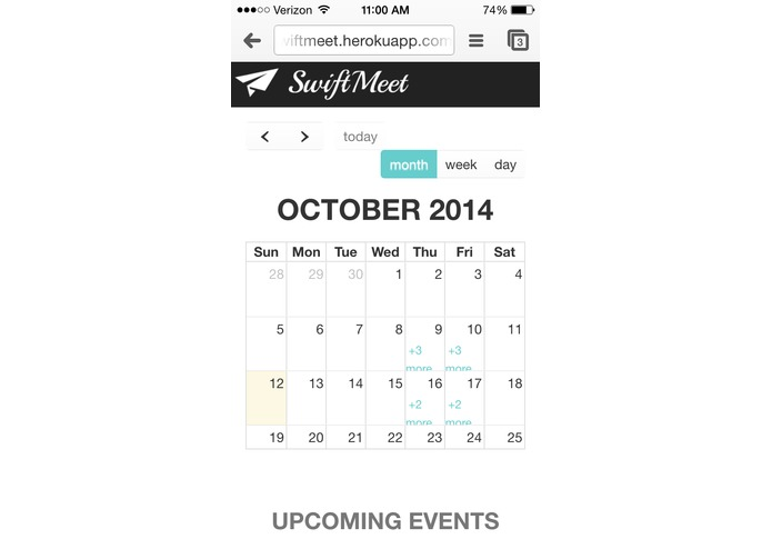 SwiftMeet – screenshot 3