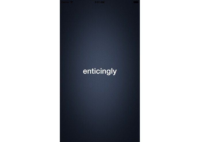 Enticingly – screenshot 1