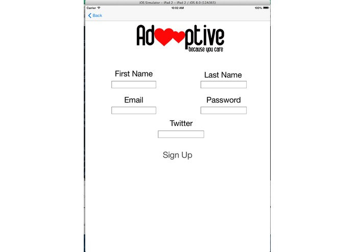 Adooptive – screenshot 2