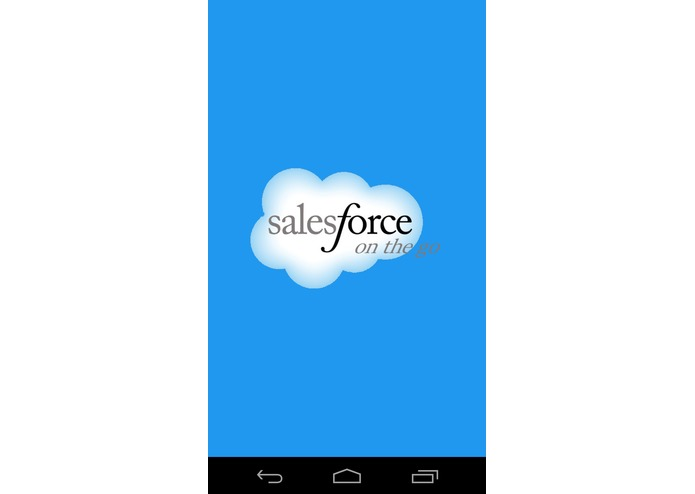 Salesforce On The Go – screenshot 1