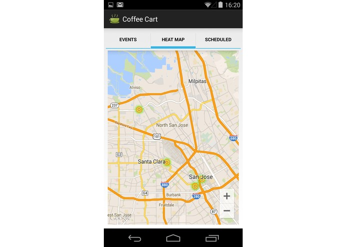 Coffee Cart Mobile app – screenshot 4