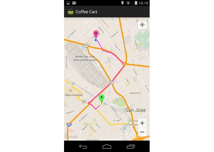 Coffee Cart Mobile app – screenshot 5