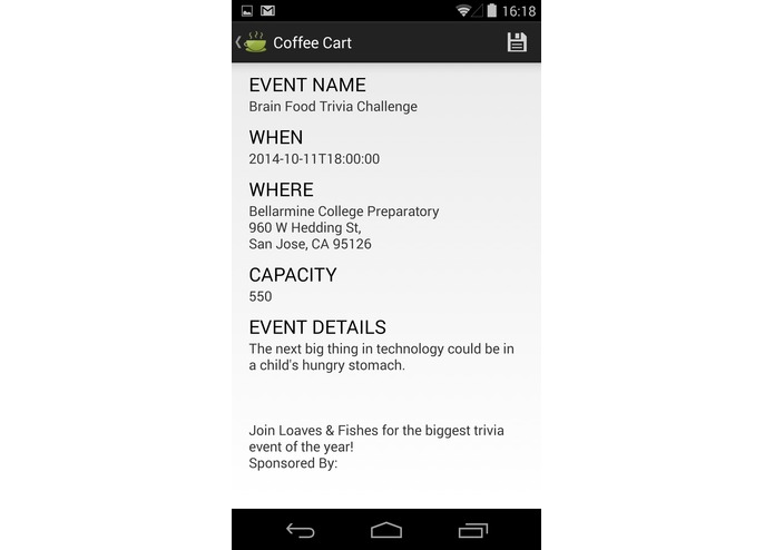 Coffee Cart Mobile app – screenshot 6