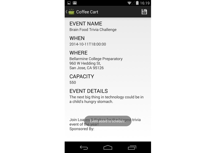 Coffee Cart Mobile app – screenshot 7