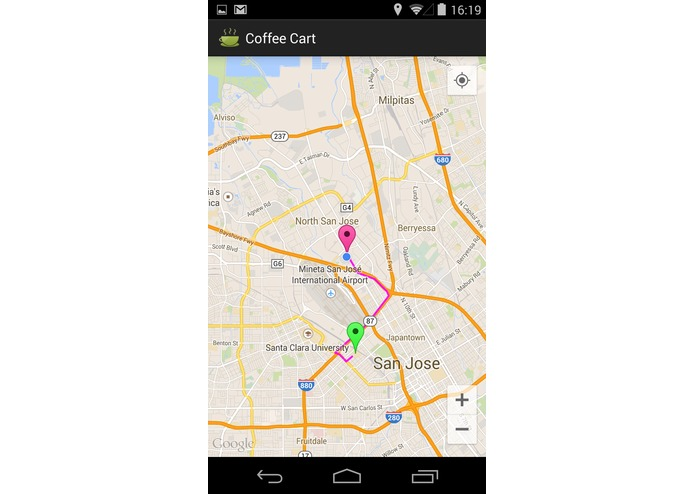 Coffee Cart Mobile app – screenshot 9