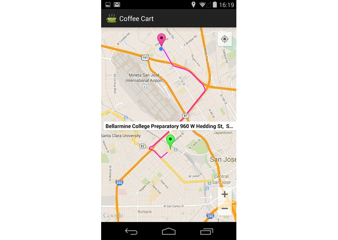Coffee Cart Mobile app – screenshot 10