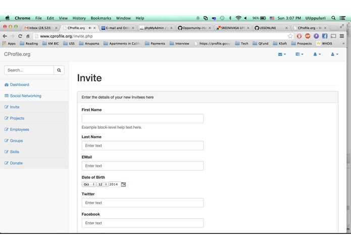 CProfile.org – screenshot 4