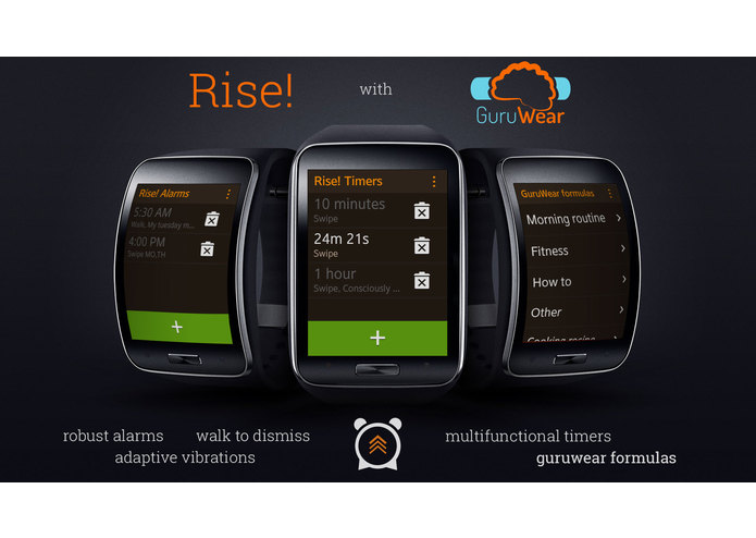 Rise! with GuruWear – screenshot 1