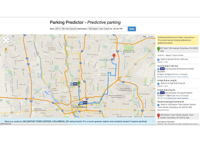 Parking Predictor – screenshot 4
