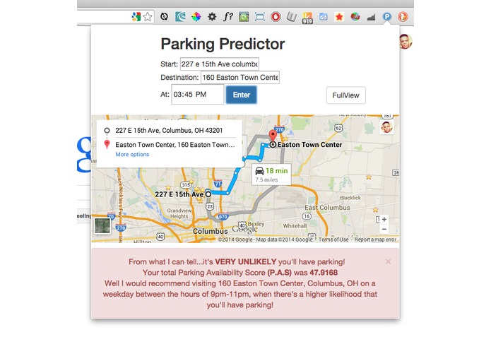 Parking Predictor – screenshot 5
