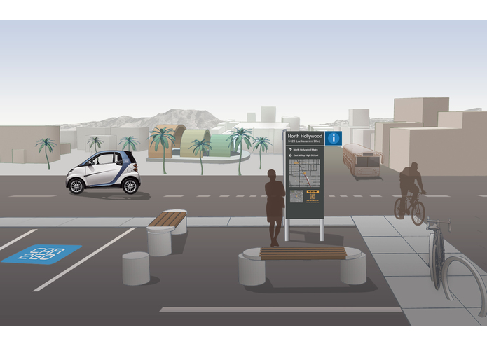 Parking Kiosks for Urban Wayfinding — Park Here L.A. – screenshot 2