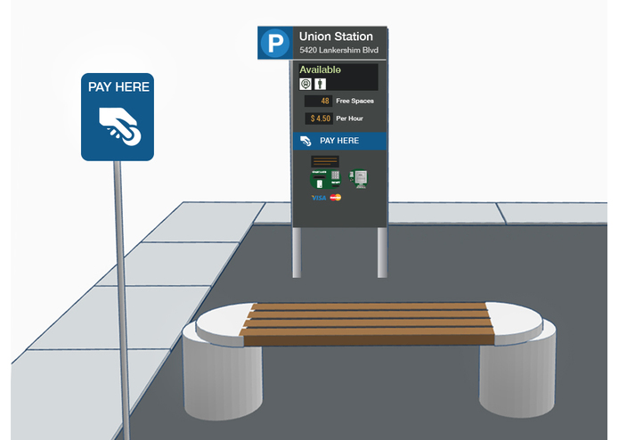 Parking Kiosks for Urban Wayfinding — Park Here L.A. – screenshot 4
