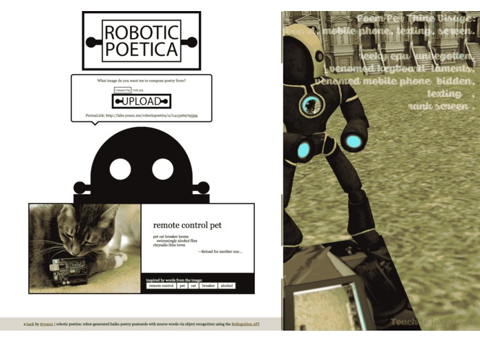 Robotic Poetica – screenshot 1