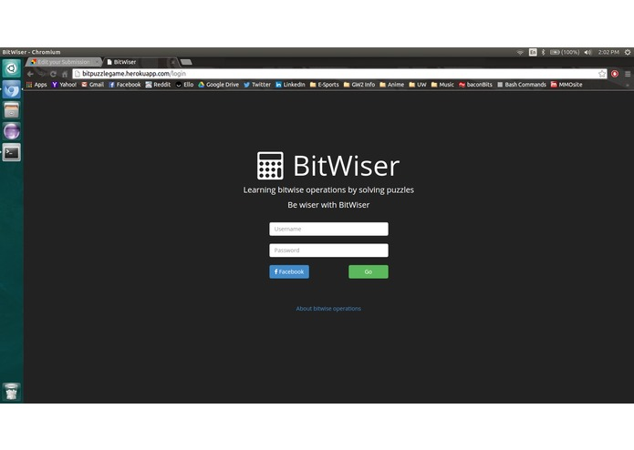 BitWiser – screenshot 1