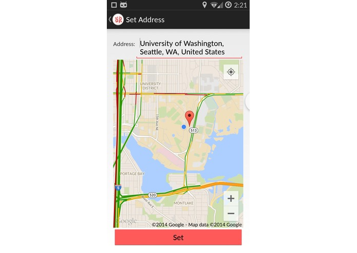 SecondRoute Traffic-Rerouting for Android, Android Wear, and Windows Phone – screenshot 2