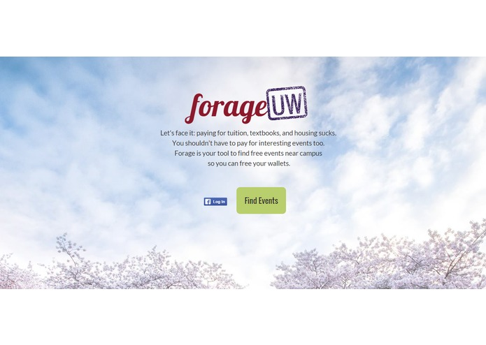ForageUW – screenshot 1