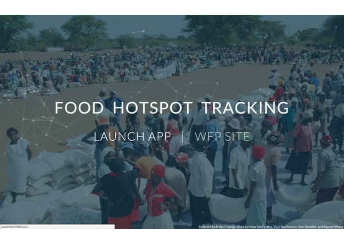 Food Hotspot Tracking – screenshot 1