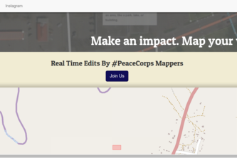 Make an impact. Map your world.