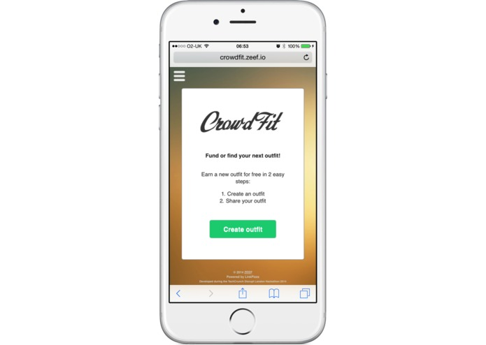 CrowdFit – screenshot 1