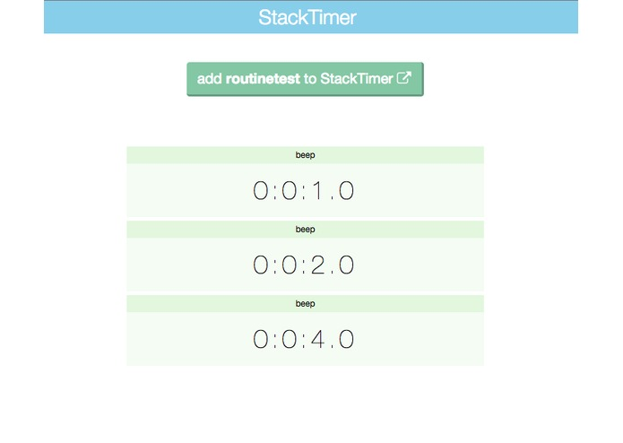 StackTimer – screenshot 2