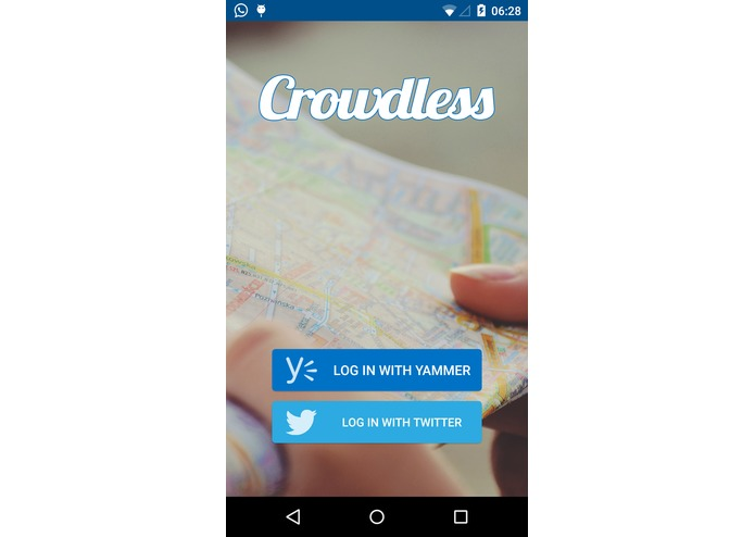 Crowdless – screenshot 1