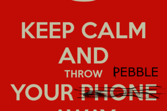 Throw your pebble away