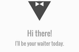 Waiter, Please