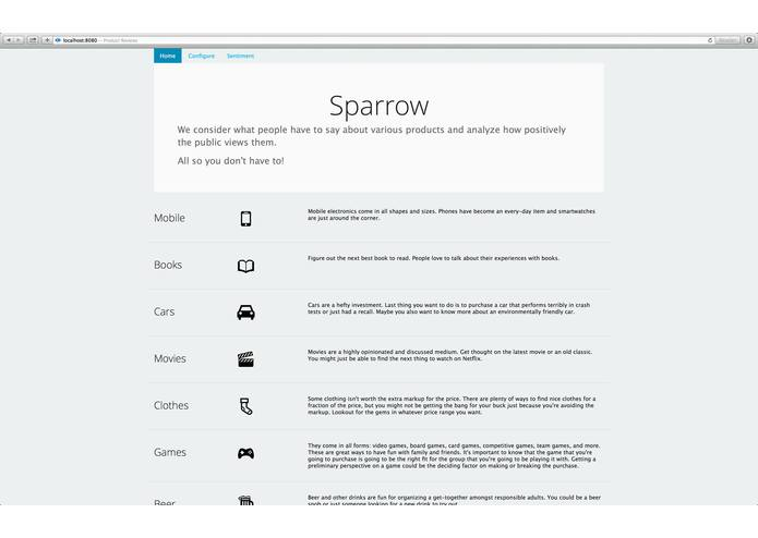 Sparrow Reviews – screenshot 5