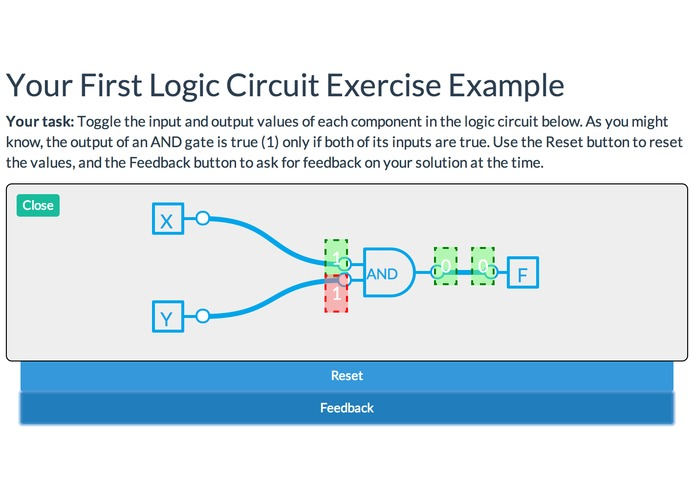 lechef  javascript logic circuit exercise framework  devpost, wiring diagram