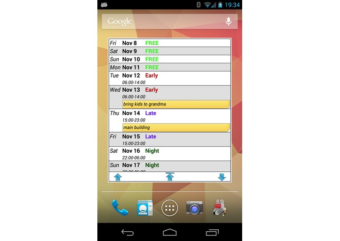 FlexR (Shift Planner) – screenshot 7