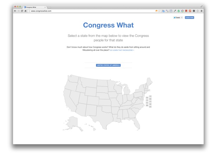 Congress What – screenshot 2