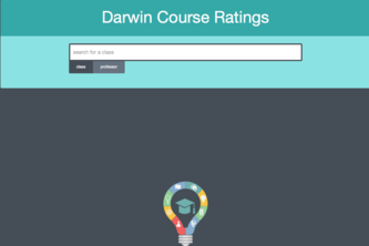 Darwin Course Ratings