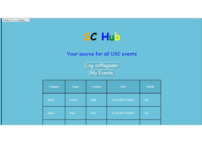 SC Hub – screenshot 2