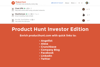 Product Hunt Investor Edition
