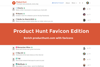 Product Hunt Favicon Edition