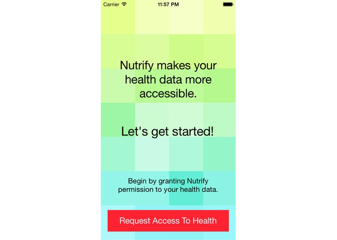 Nutrify – screenshot 1
