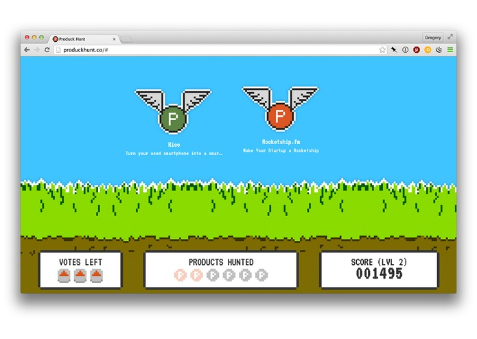 Produck Hunt – screenshot 1