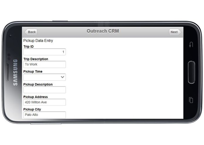 Outreach CRM – screenshot 2
