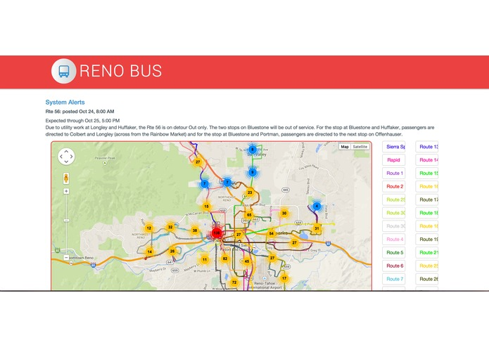 Reno Bus – screenshot 1