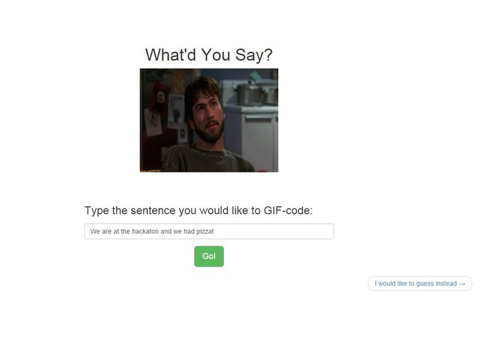 What'd you say – screenshot 1